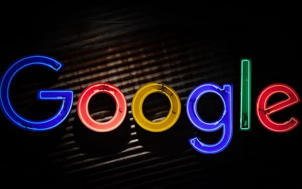 letrero Google
