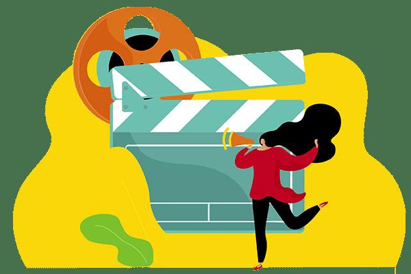 ilustración video corporativo